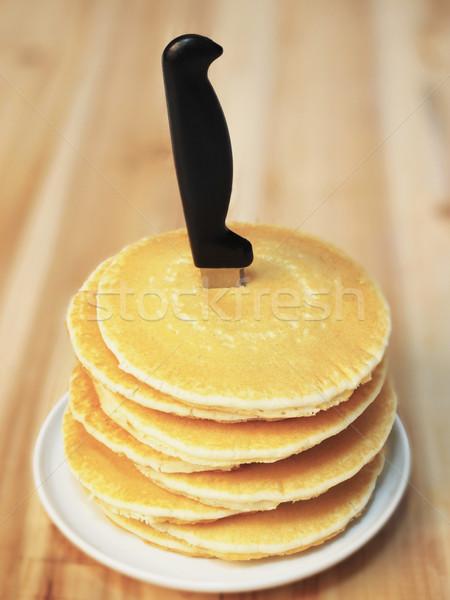pancakes Stock photo © zkruger