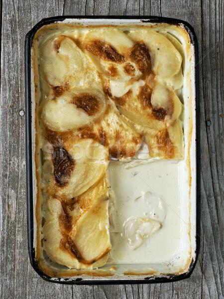 Rustico patate colore comfort Foto d'archivio © zkruger