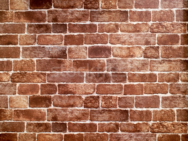 red brick wall Stock photo © zkruger