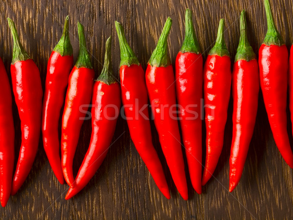 Asian Rood chili voedsel hot Stockfoto © zkruger