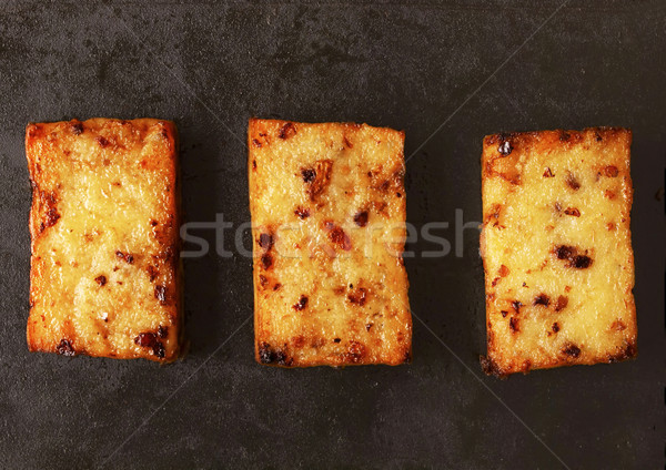 Frito bolo de cenoura asiático comida bolo Foto stock © zkruger