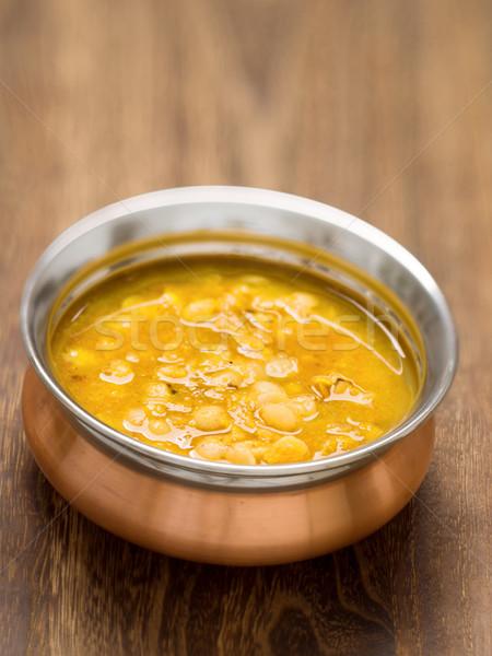 indian vegetarian dahl curry Stock photo © zkruger
