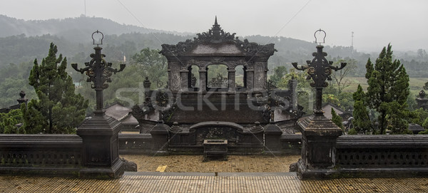 khai dinh tomb in hue vietnam Stock photo © zkruger