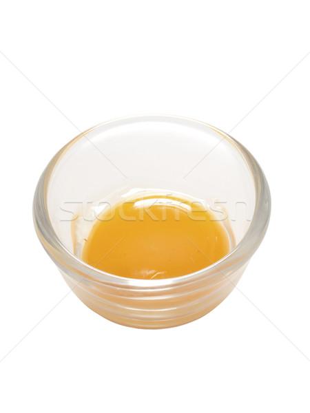 яйцо желток куриные цвета белый Сток-фото © zkruger