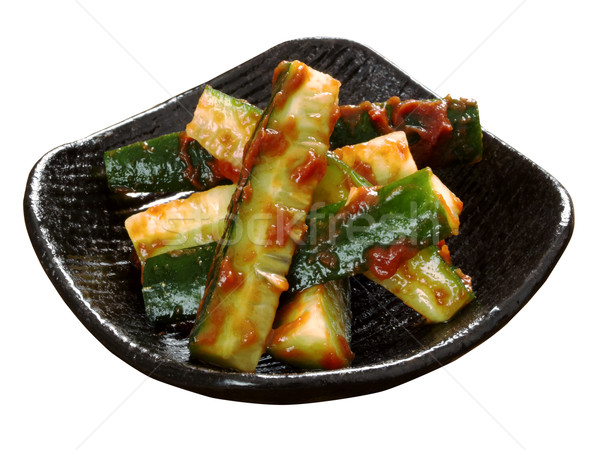korean cucumber banchan Stock photo © zkruger