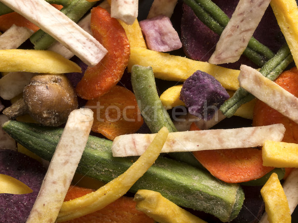 vegetable chips Stock photo © zkruger