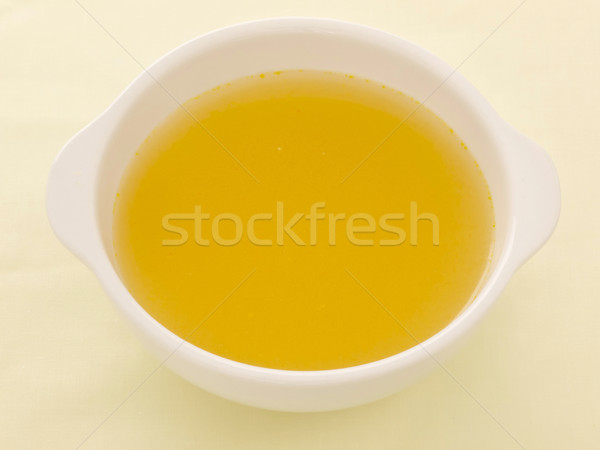chicken broth Stock photo © zkruger