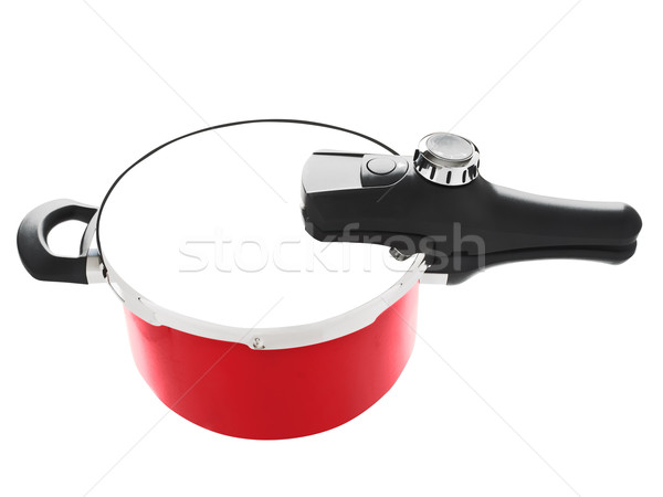 red pressure cooker Stock photo © zkruger