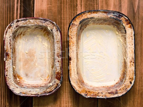 素朴な みすぼらしい パイ 金属 キッチン ストックフォト © zkruger