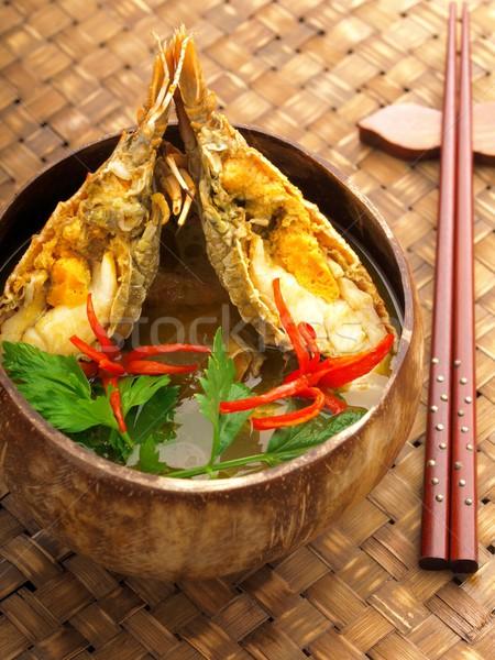 crayfish curry Stock photo © zkruger