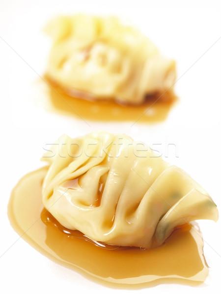 asian steamed dumplings Stock photo © zkruger