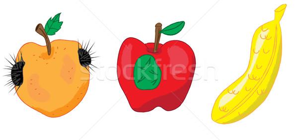 Essen öffentlichen Gesundheit Anliegen Illustration Stock foto © zkruger