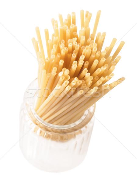 bucatini spaghetti pasta Stock photo © zkruger
