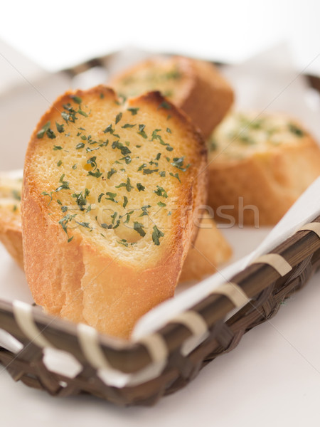 garlic bread Stock photo © zkruger