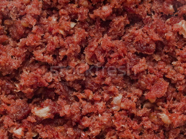 minced corned beef Stock photo © zkruger