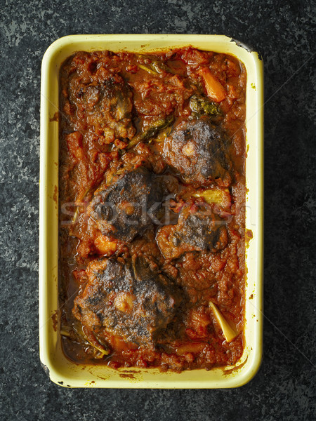 деревенский итальянский тушеное мясо продовольствие сердце Сток-фото © zkruger
