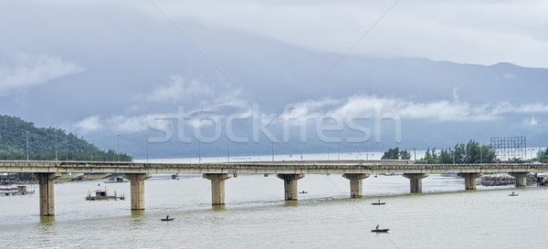 tien son bridge in da nang vietnam Stock photo © zkruger