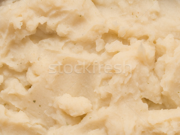 mash potato food texture background Stock photo © zkruger