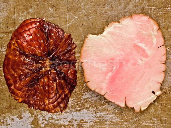rustic ham end Stock photo © zkruger