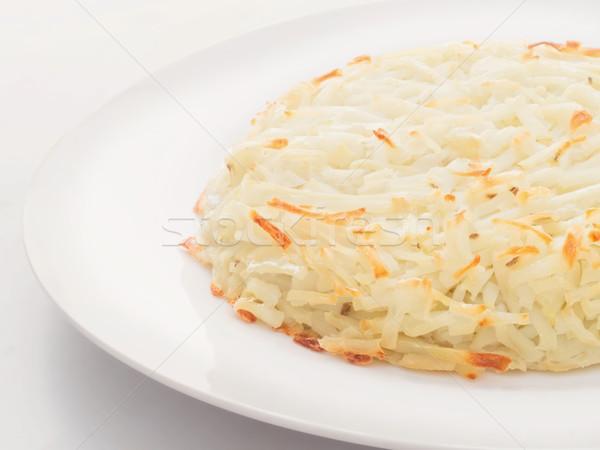 ジャガイモ 食品 野菜 野菜 皿 ストックフォト © zkruger