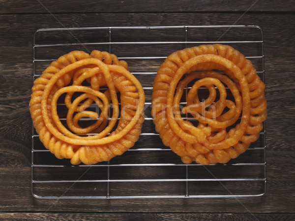 indian jalebi sweets Stock photo © zkruger