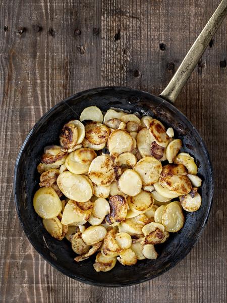 Rustico patate colore grasso Foto d'archivio © zkruger