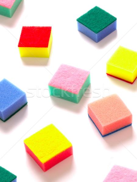 sponge scouring pads Stock photo © zkruger
