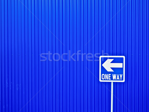 one way Stock photo © zkruger