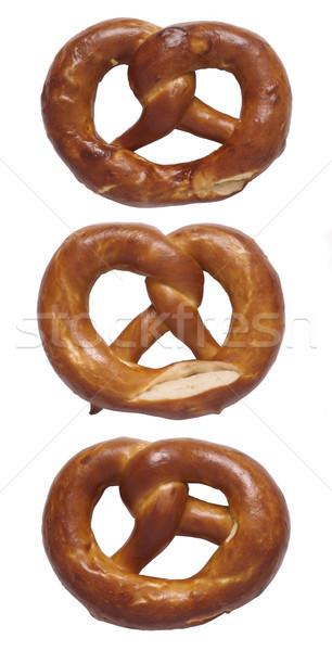 Salgadinhos isolado pão Foto stock © zkruger