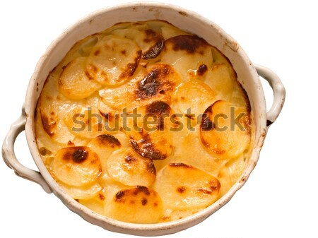 scalloped potatoes Stock photo © zkruger