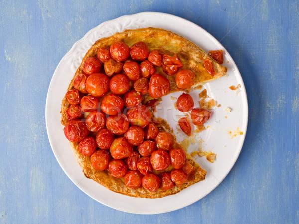 Rústico tomate cherry alimentos cereza tomates Foto stock © zkruger
