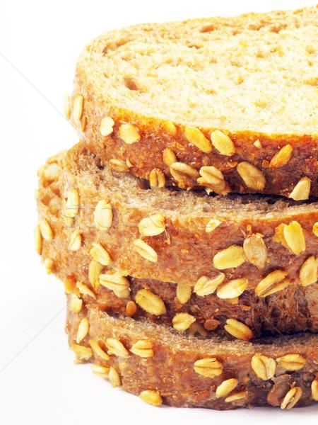 sliced brown bread Stock photo © zkruger