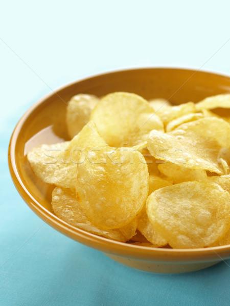 potato crisps Stock photo © zkruger