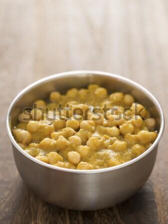 Perla cebada tazón color vegetales Foto stock © zkruger