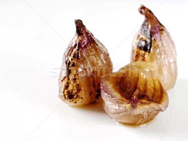 caramelized shallots Stock photo © zkruger