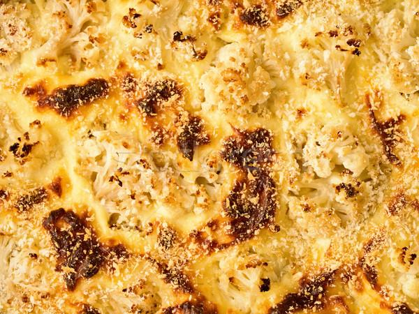 цветная капуста сыра продовольствие фон Сток-фото © zkruger