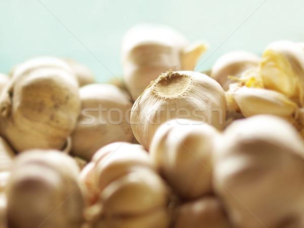 чеснока куча продовольствие цвета растительное Сток-фото © zkruger