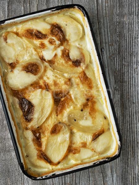 Rustiek gouden aardappel kleur comfort Stockfoto © zkruger