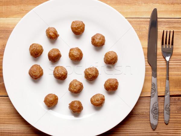 meat balls Stock photo © zkruger