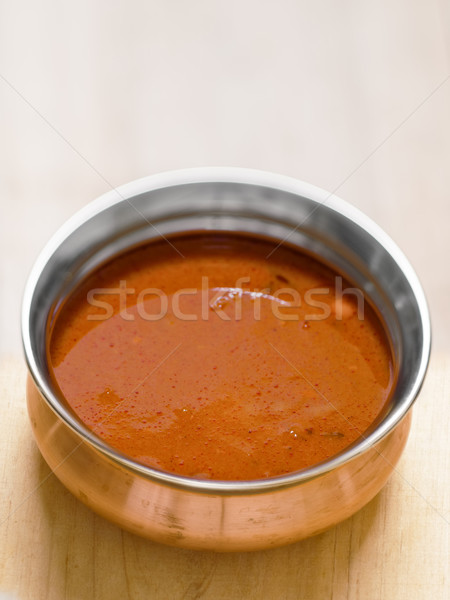 indian masala curry gravy Stock photo © zkruger