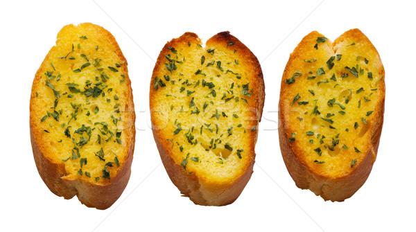 ガーリックブレッド 焼いた 食品 朝食 ストックフォト © zkruger