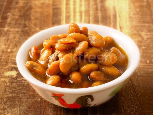 salted fermented soy beans Stock photo © zkruger