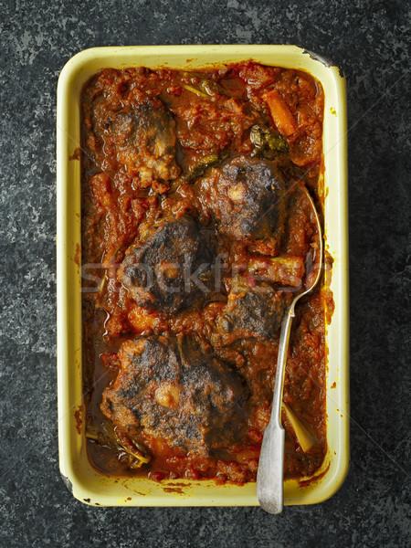 Rustico italiana spezzatino alimentare cuore Foto d'archivio © zkruger