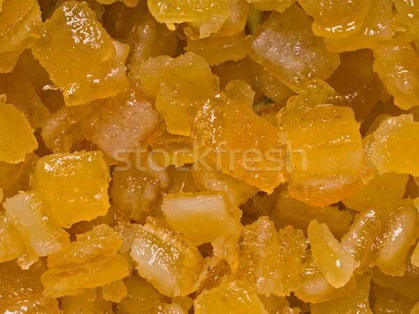 砂糖漬けの オレンジ 柑橘類 ピール 食品 ストックフォト © zkruger