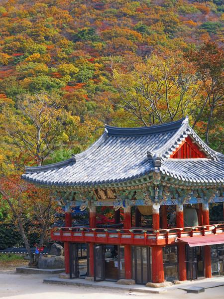 beomeosa temple in busam south korea Stock photo © zkruger