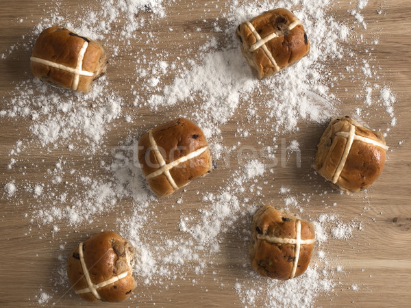 hot cross buns Stock photo © zkruger