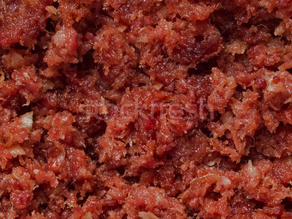 Stock photo: minced corned beef