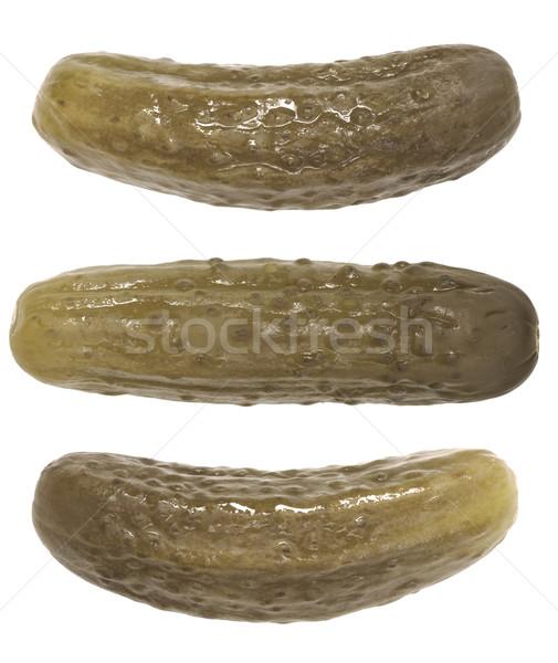 Photo stock: Isolé · blanche · fond · légumes · personne