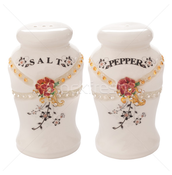 salt and pepper shakers Stock photo © zkruger