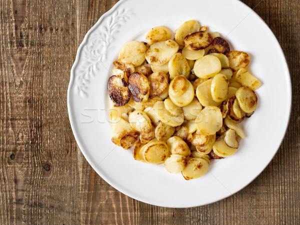 rustic german bratkartofflen fried potatoes Stock photo © zkruger